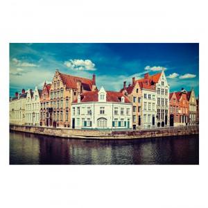 Quadro 091A-R Canais de Bruges Bélgica