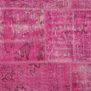 Tapete Old Patch Fucsia