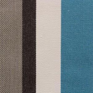 Tecido Sunombre Stripe Turquoise Jacquard