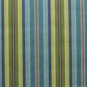 Tecido Sunsettee Stripe Turq Blue Jacquard