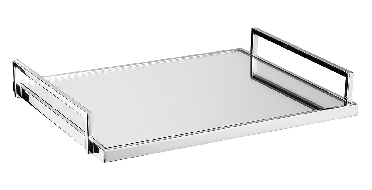 Bandeja Premium - Vidro espelhado