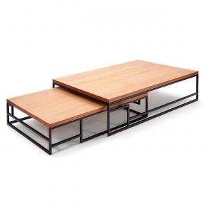 Mesa de centro Mondrian alta e baixa