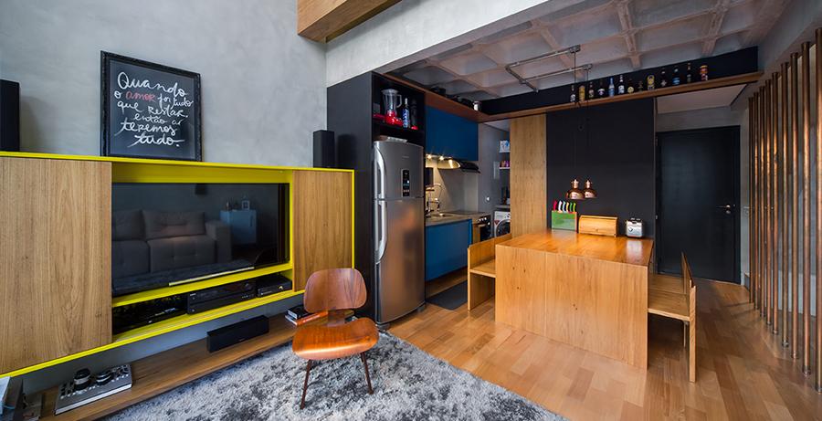 Apartamento Campo Belo - Casa 100 Arquitetura