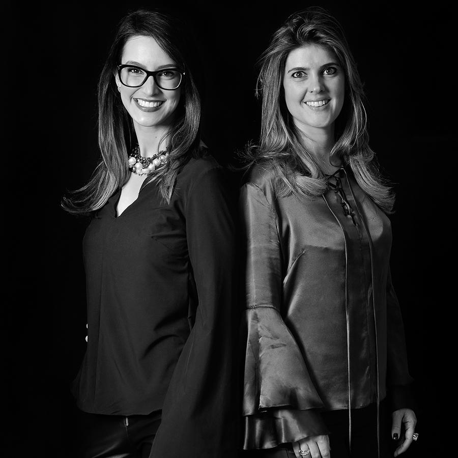 Joana Deicke e Maria Manoela Bento Pereira