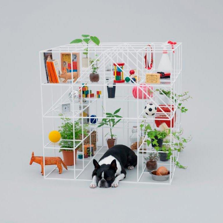 Japan House apresenta casas de cachorro projetadas por arquitetos renomados