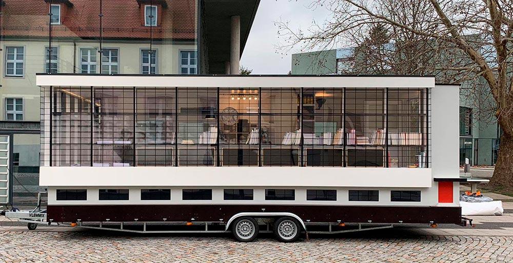 Bauhaus: exposição em ônibus comemora o centenário da escola