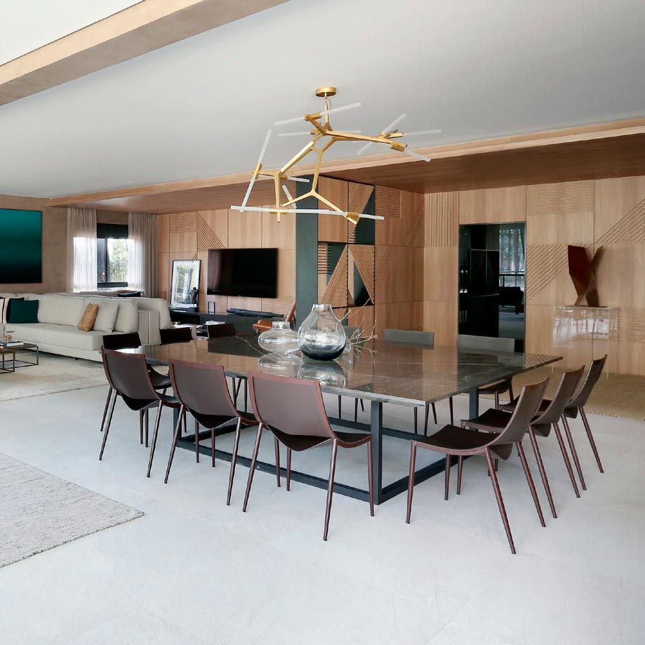 Casa em São Paulo valoriza o design contemporâneo
