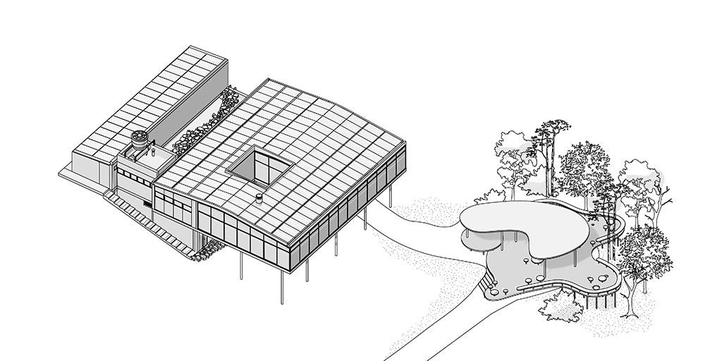 Casa de Vidro de Lina Bo Bardi ganha Pavilhão de Verão