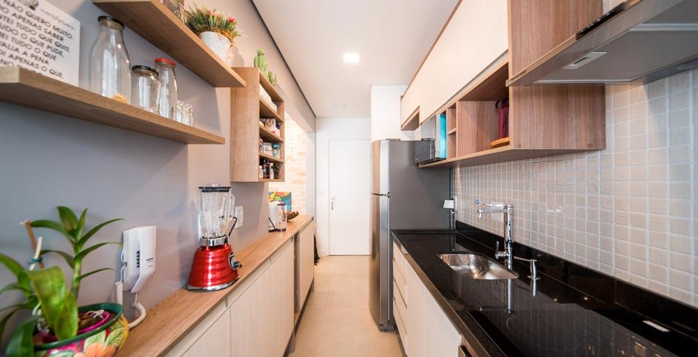 Apartamento de 38 m² tem até lavabo para atender visitas