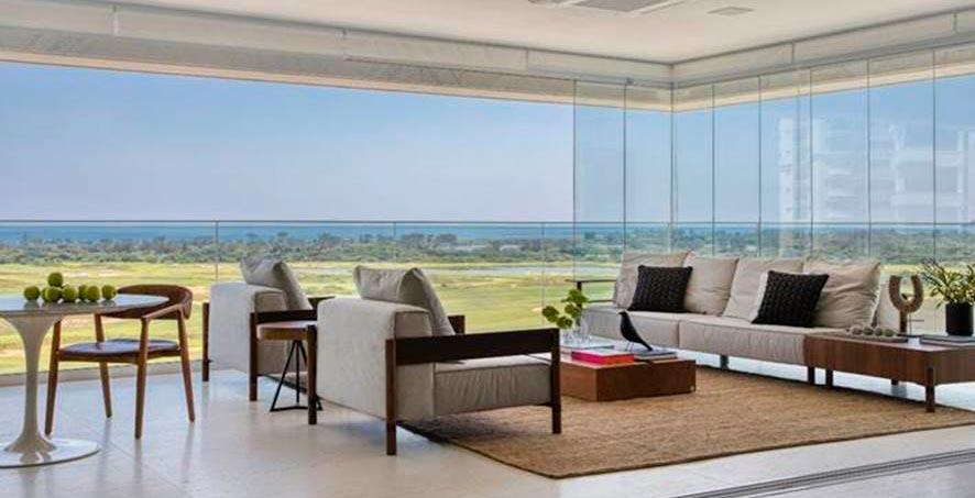 Apartamento de 380 m² com vista para o mar do Rio de Janeiro