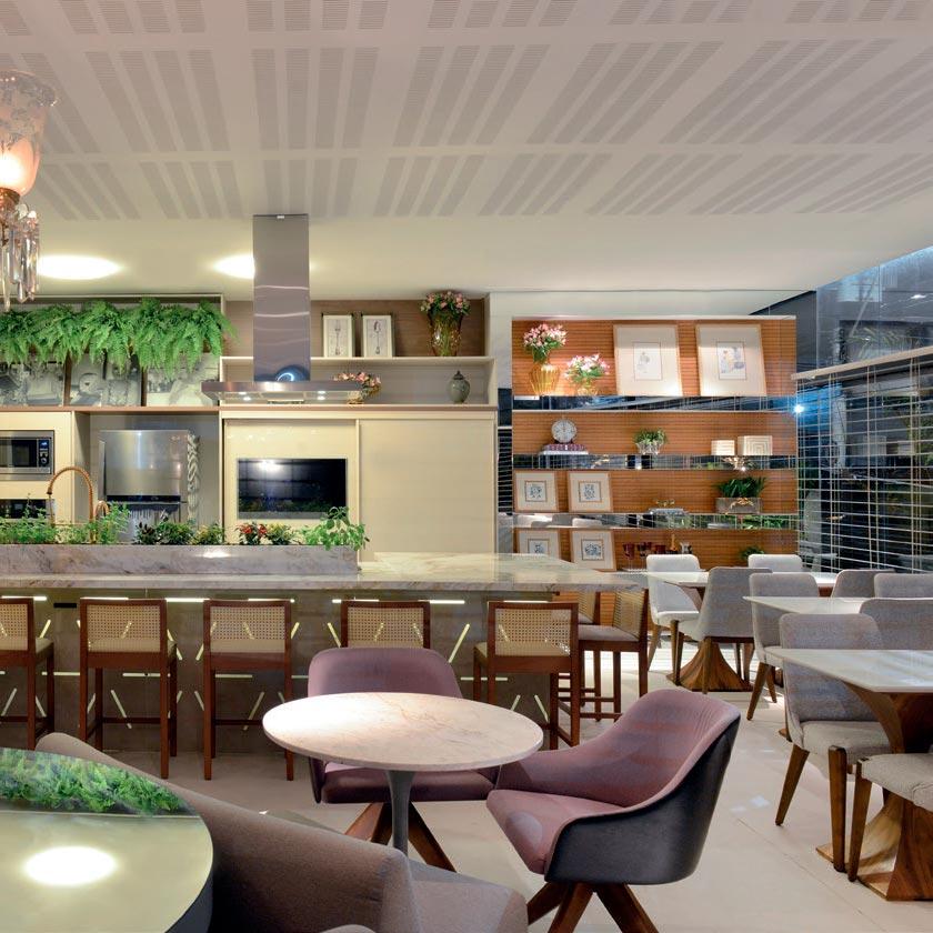 Área gourmet na Bahia é inspirada na apresentadora Ana Maria Braga