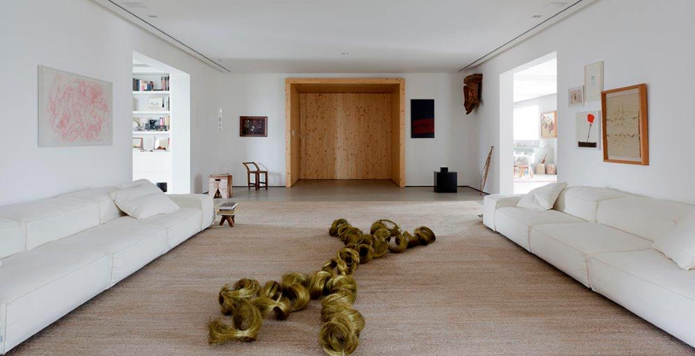 Apartamento em São Paulo tem ares de galeria de arte