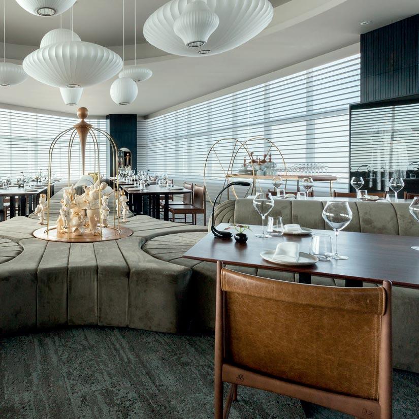 Leo Romano assina restaurante no prédio mais alto do Brasil