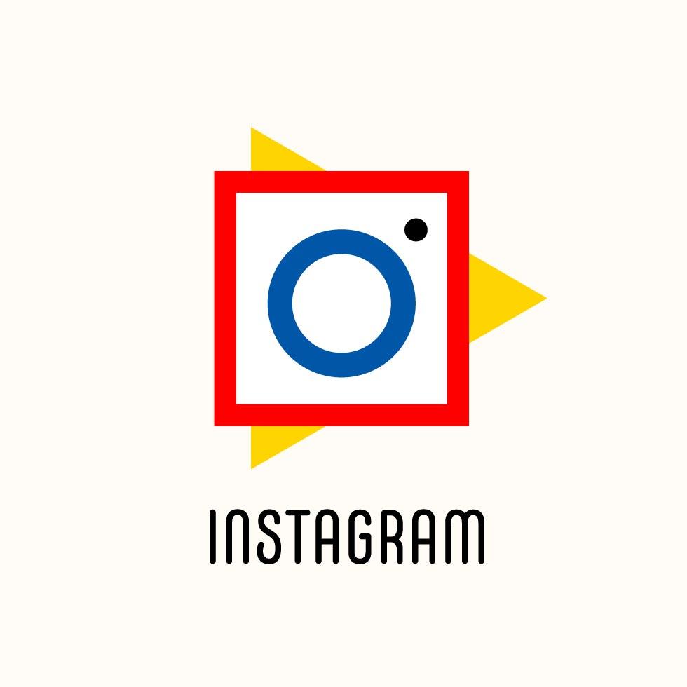 Logos de marcas famosas ganham versões em estilo Bauhaus