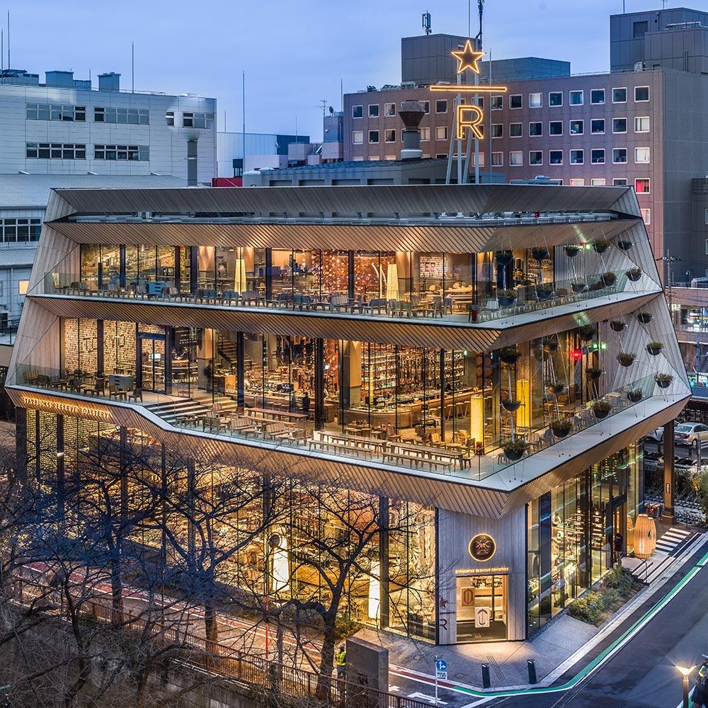 Kengo Kuma assina o projeto do maior Starbucks do mundo
