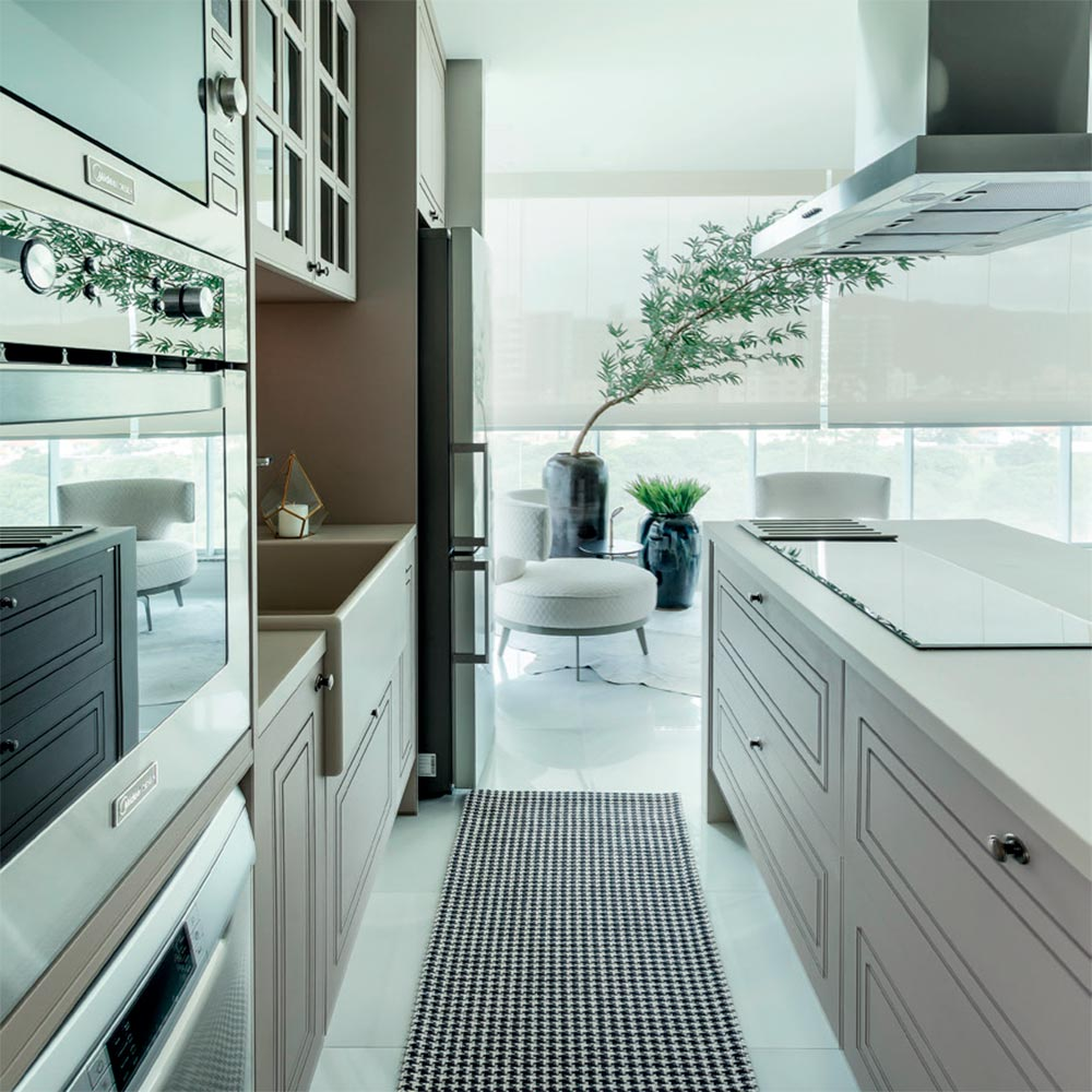 Apartamento catarinense é inspirado na arquitetura de Nova York