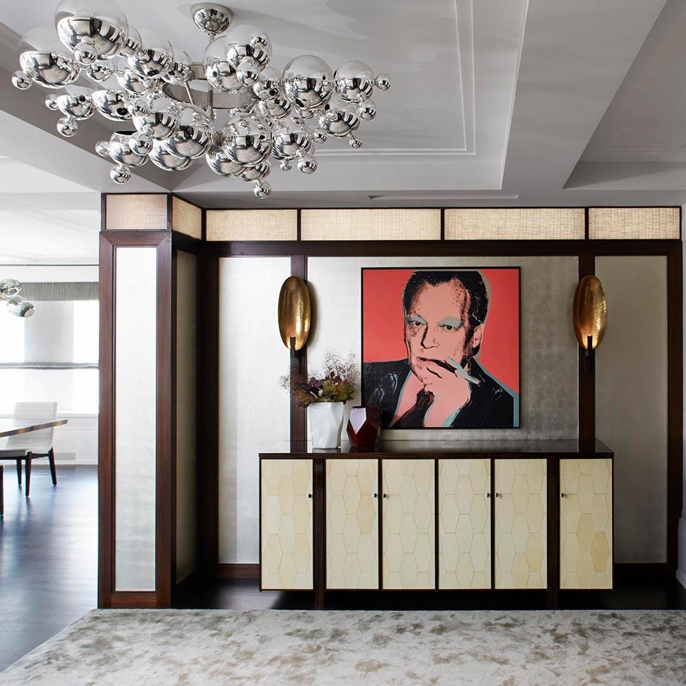 Apartamento em NY é repaginado para abrigar coleção de arte