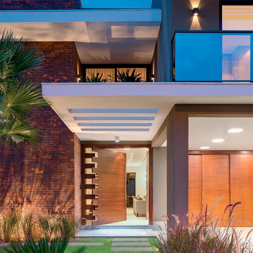 Casa no Mato Grosso é projetada para receber amigos