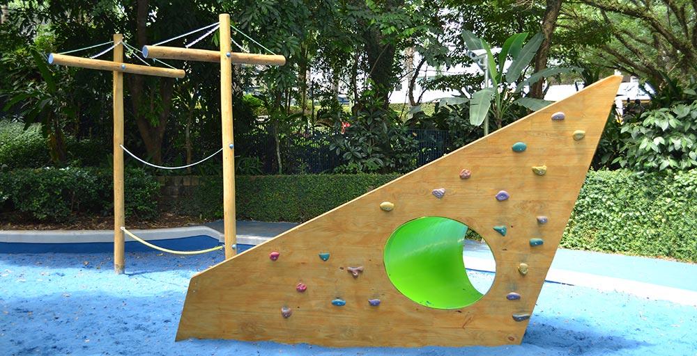 Área de recreação escolar aposta em espaços lúdicos