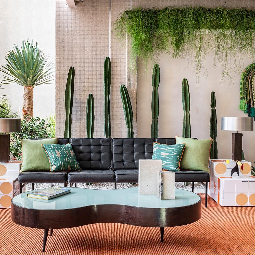 CASACOR SÃO PAULO 2019: Jardim é inspirado na arquitetura californiana de Palm Springs