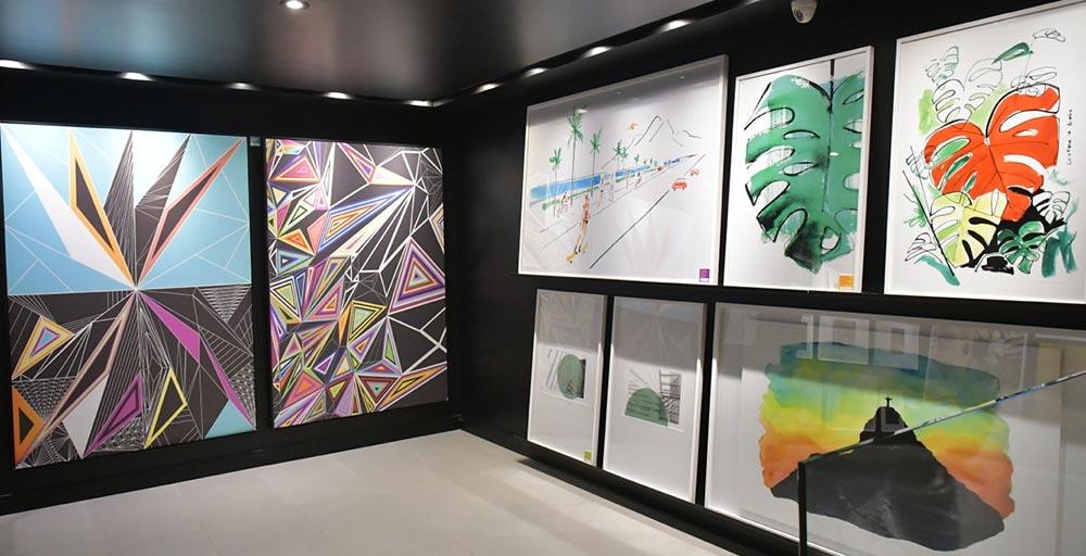 Moldura Minuto agora também é galeria de arte