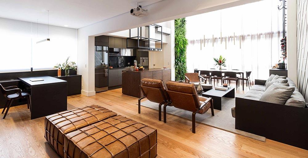 Apartamento de 90 m² une o requinte francês com o estilo de vida paulistano