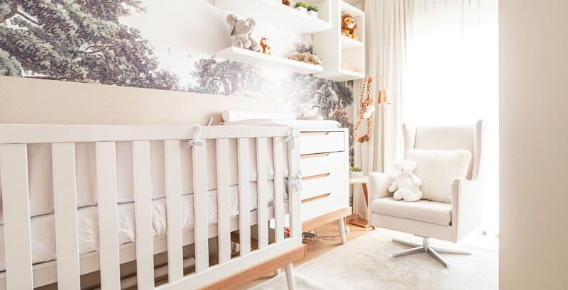 Safari norteia décor de quarto de bebê
