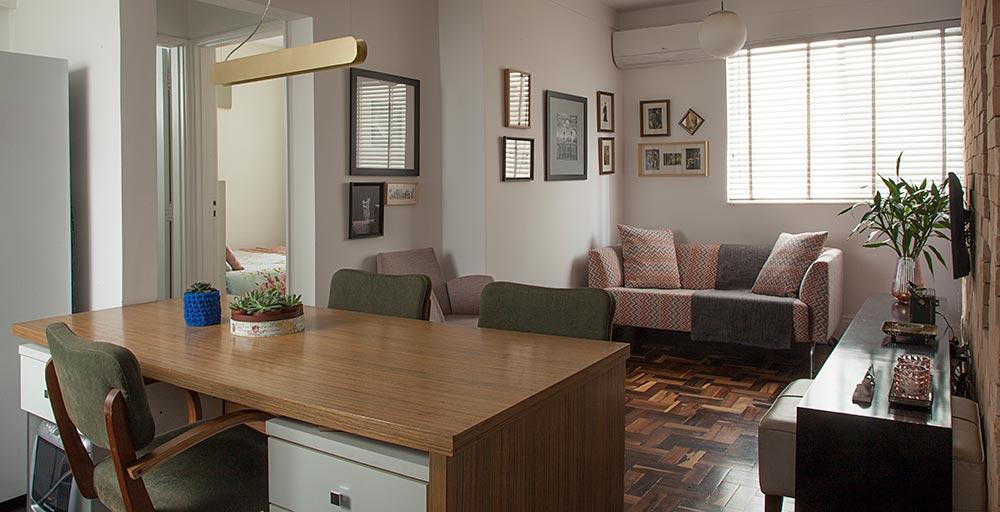 Apê de 36 m² para morar e trabalhar