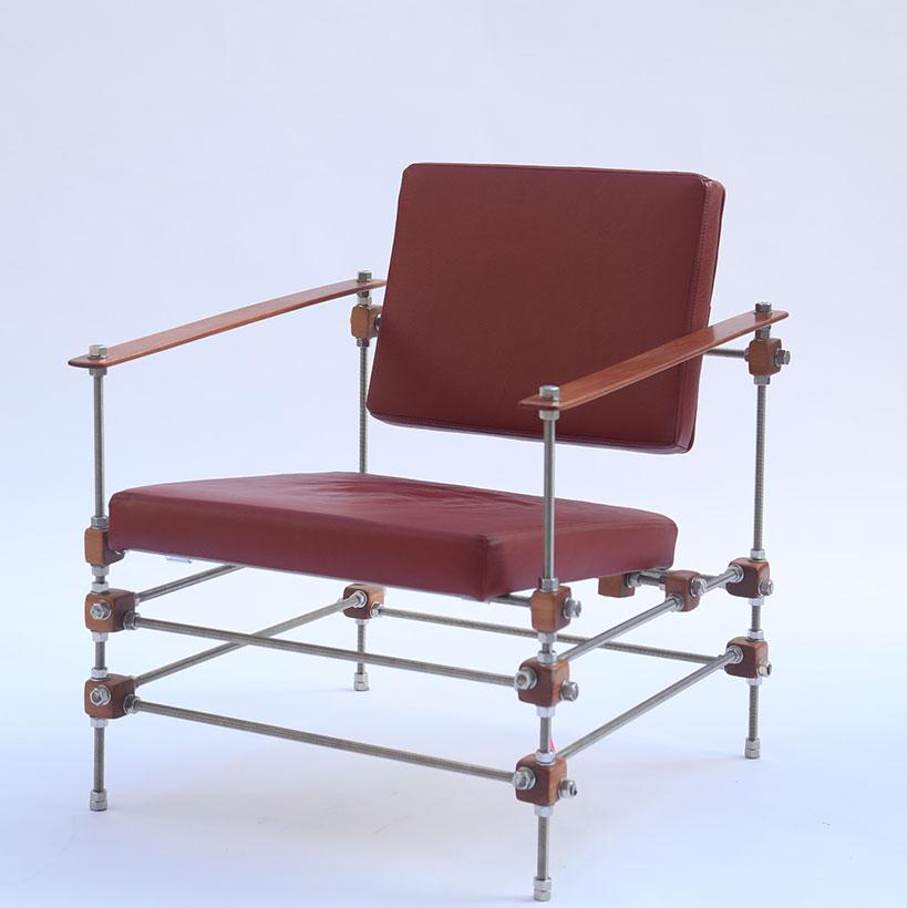 Cadeira com desenho premiado homenageia esposa do designer