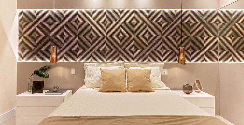Apartamento de 65 m² tem décor clean e funcional