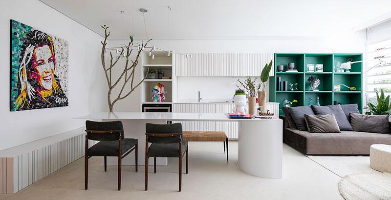Estúdio da Influenciadora tem décor clean e instagramável
