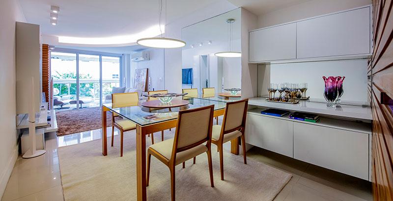 Apartamento clean e romântico para jovem casal