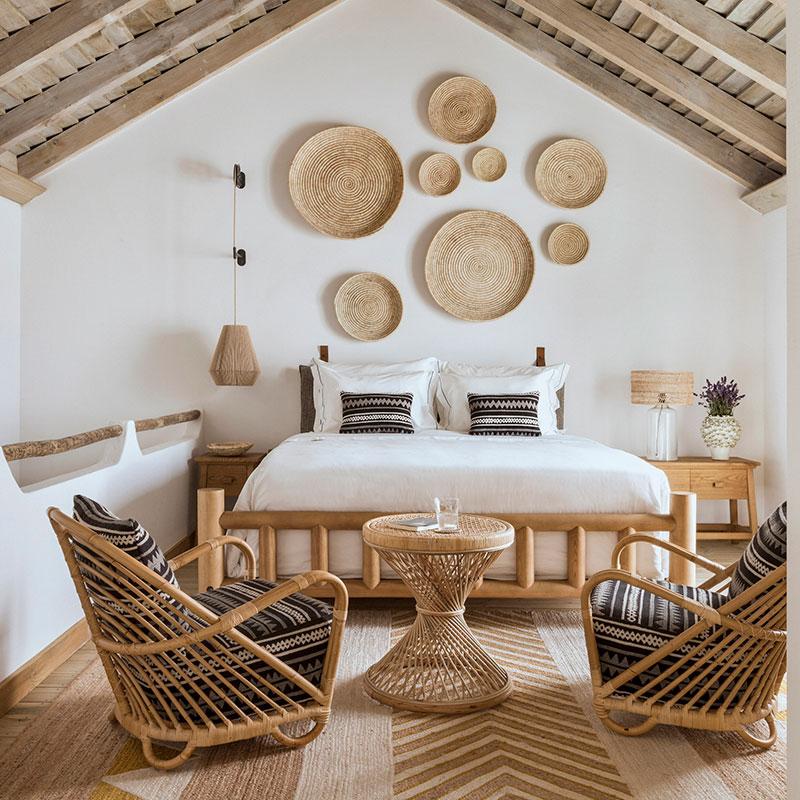 Hotel em Portugal com décor rústico preza pela conexão com a natureza