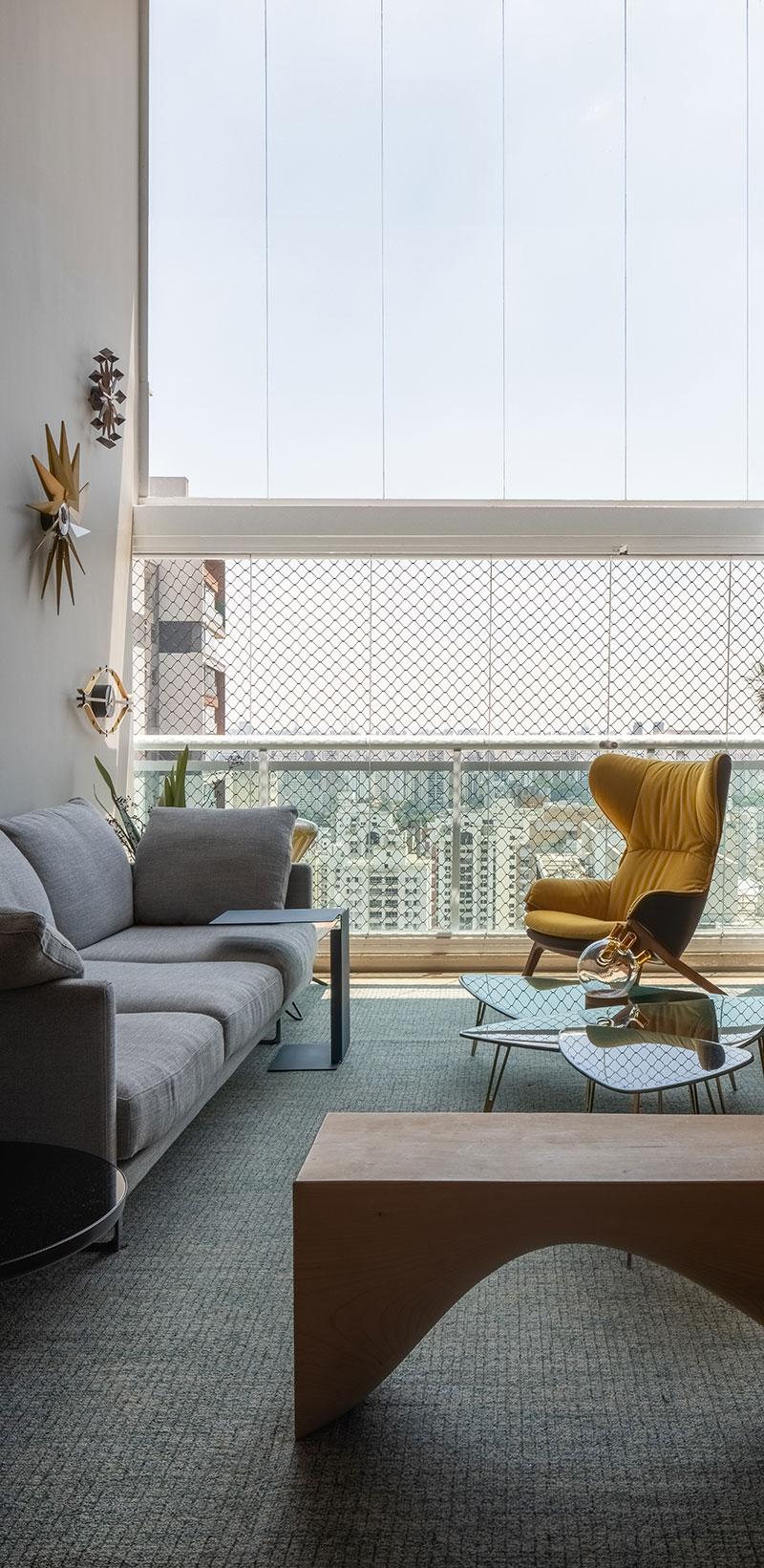 Apartamento de 178 m² ganha personalidade com referências holandesas