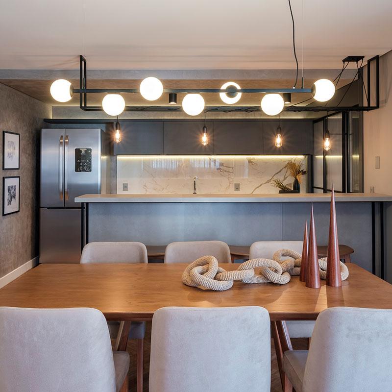 BRASIL EM FOCO: Apartamento moderno na Serrra Gaúcha é assinado pelo escritório Entrée Arquitetura