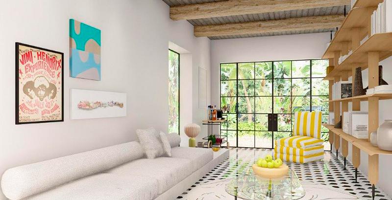 Lounge se integra ao exterior e propõe um espaço offline