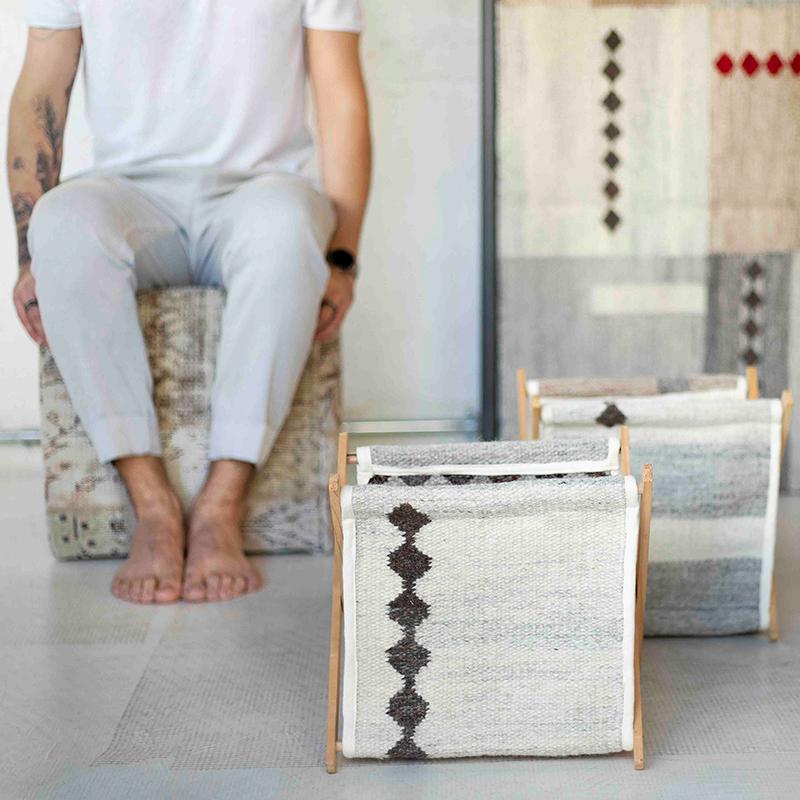 Galeria Hathi lança linha de acessórios feita com sobras de seus tapetes
