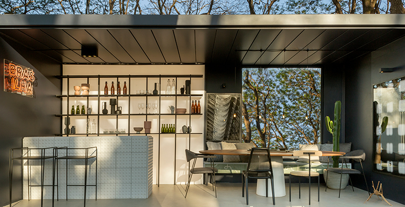 JANELAS CASACOR: bar dentro de casa ressignifica o conceito de diversão