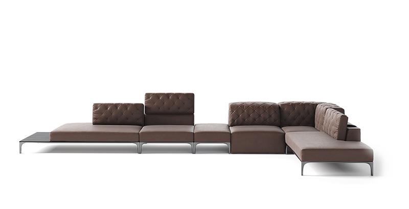 Natuzzi Italia apresenta coleção de sofás assinada por grandes designers