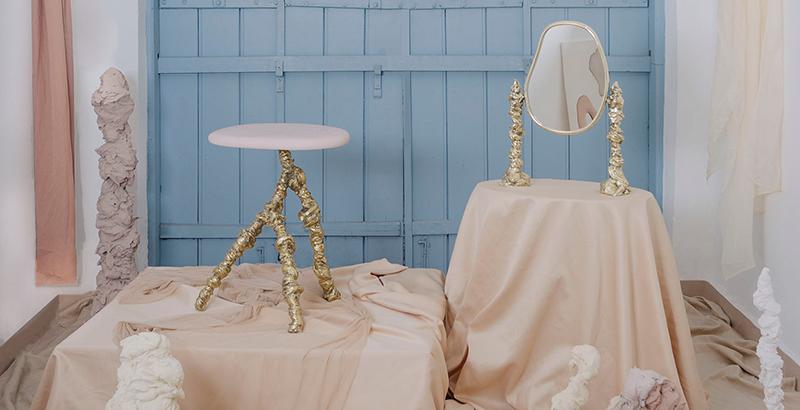 Estúdio Orth e Gabriella Garcia lançam série escultural Pilastros