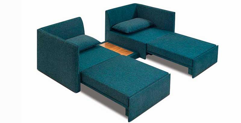 Dunelli lança móvel que pode ser usado como sofá, poltrona, chaise ou cama