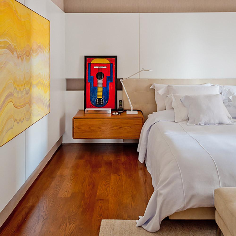 Apartamento paulistano de 400 m² tem clima de galeria de arte
