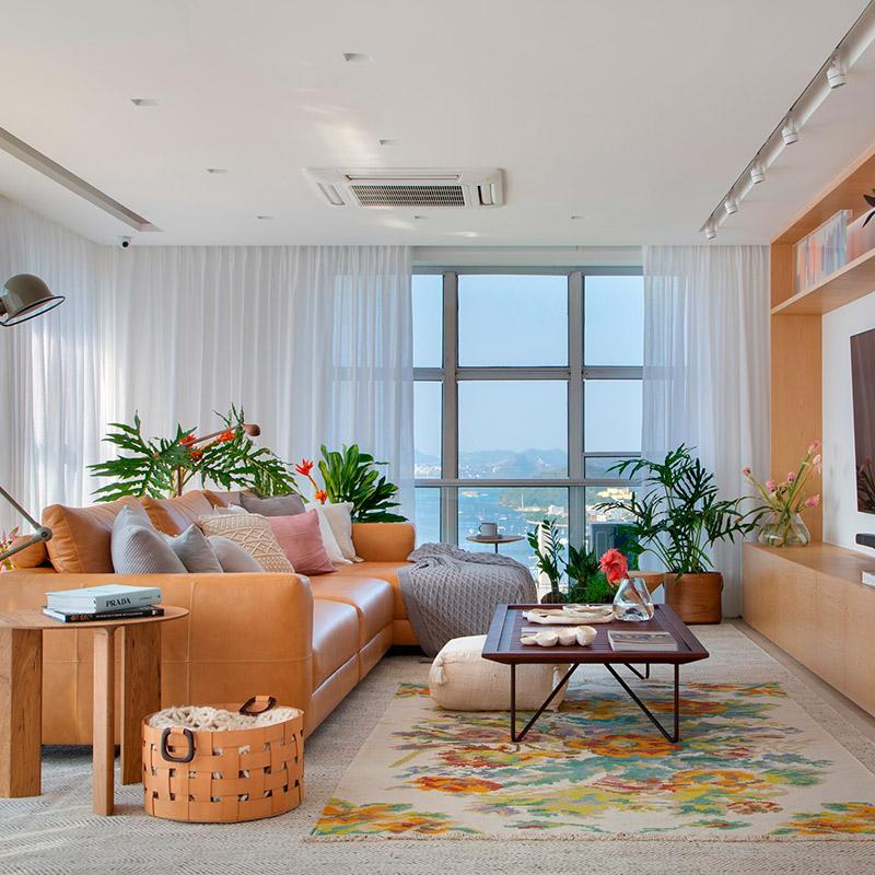 Apartamento em Botafogo possui vista de 180º do Rio de Janeiro