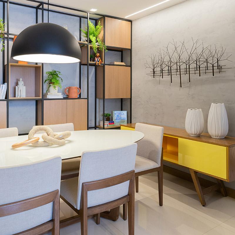 Apartamento de 74 m² adaptado aos novos tempos