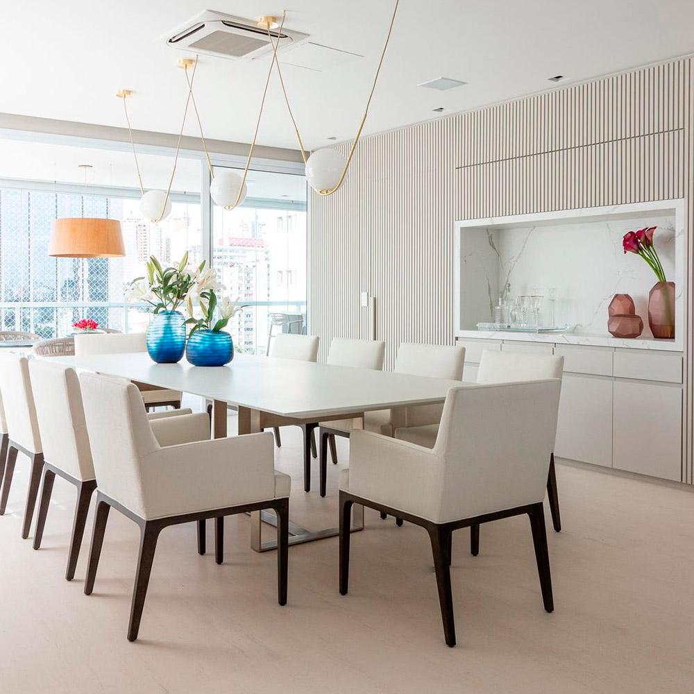 Apartamento de 320 m² integrado e décor atemporal