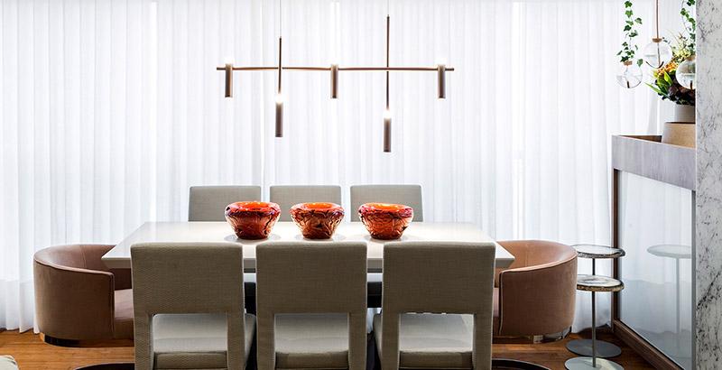 Apartamento de 68 m² para uma amante da gastronomia