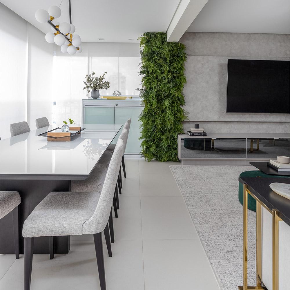Apartamento de 100 m² clean, moderno e integrado