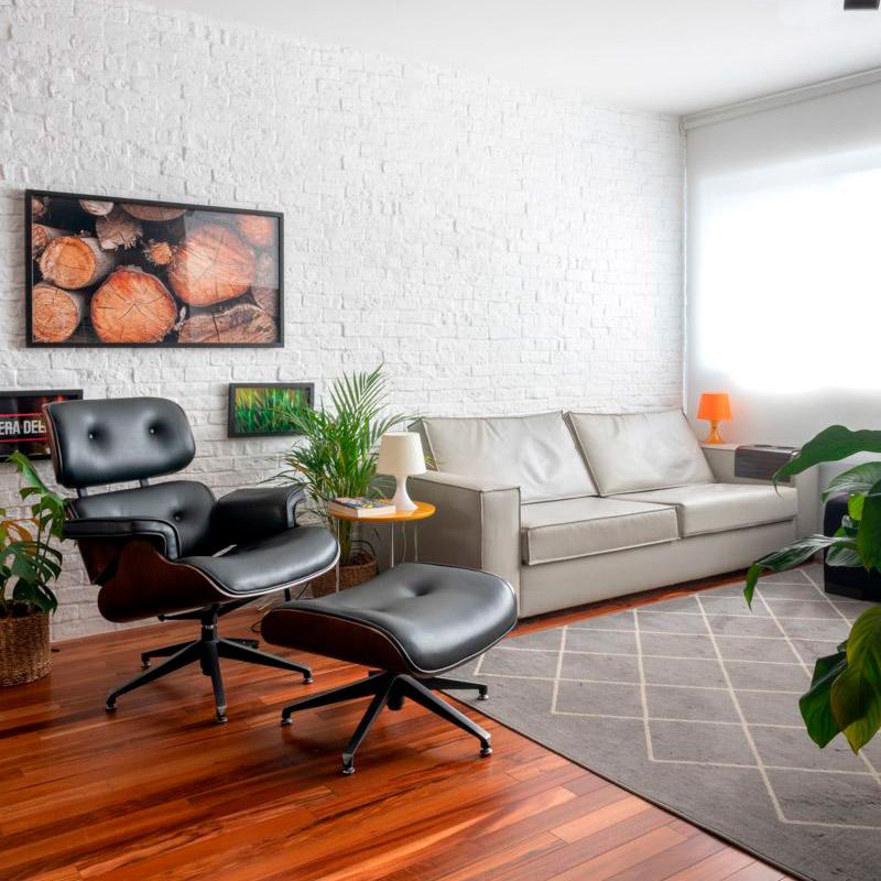 Apartamento ganha nova setorização e agora tem até estúdio de bateria